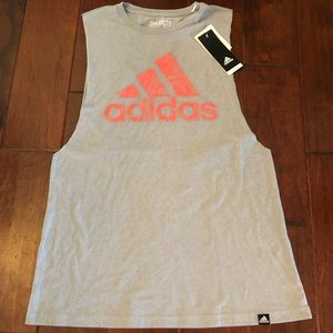 NWT Adidas Muscle Tank M